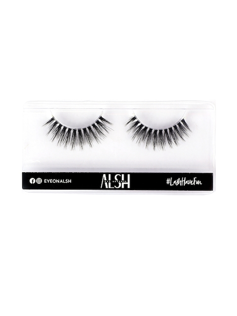 ALSH Women Black Clear Band - Length Premium 3D Faux Mink Lashes CB501