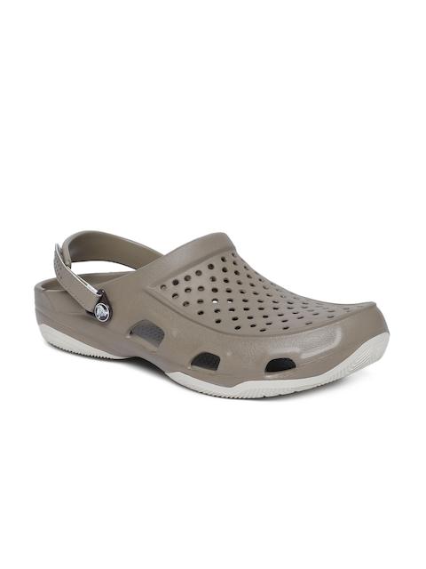 Crocs Men Khaki Clogs
