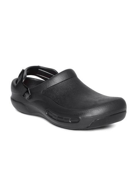 Crocs Unisex Black Solid Clogs