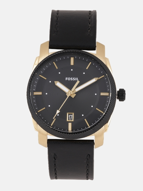 Fossil Men Black Factory Service Analogue Watch FS5263I