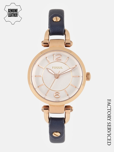 Fossil Women White Factory Serviced Analogue Watch ES4026I