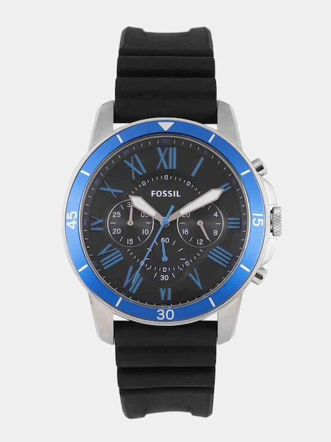 Fossil Men Black Factory Service Analogue Watch FS5300I