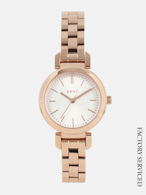 DKNY Women Factory Serviced White Analogue Watch NY2592I_FSS