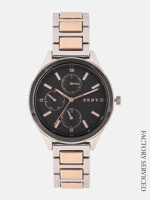 DKNY Women Black Analogue Factory Serviced Watch NY2659I