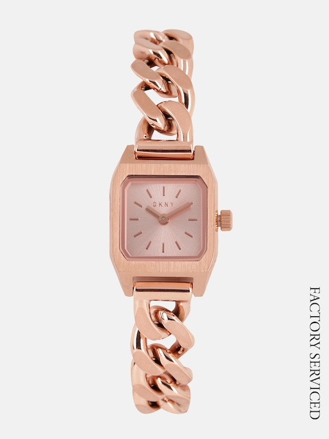 DKNY Women Rose Gold Factory Service Analogue Watch NY2668I