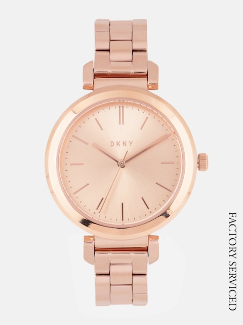 DKNY Women Rose Gold Factory Serviced Watch NY2584I