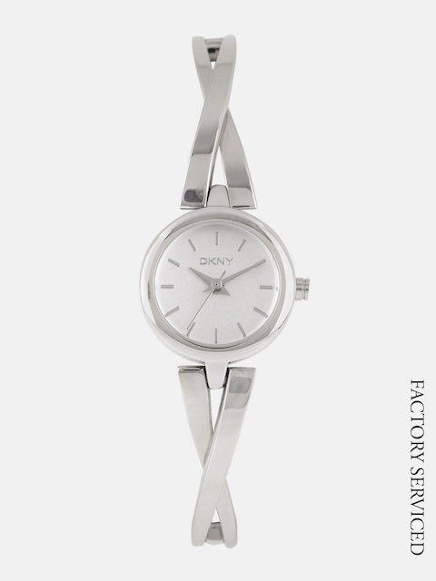 DKNY Women Silver-Toned Factory Service Analogue Watch NY2169I