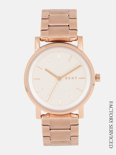 DKNY Women Off-White Factory Serviced Watch NY2344I