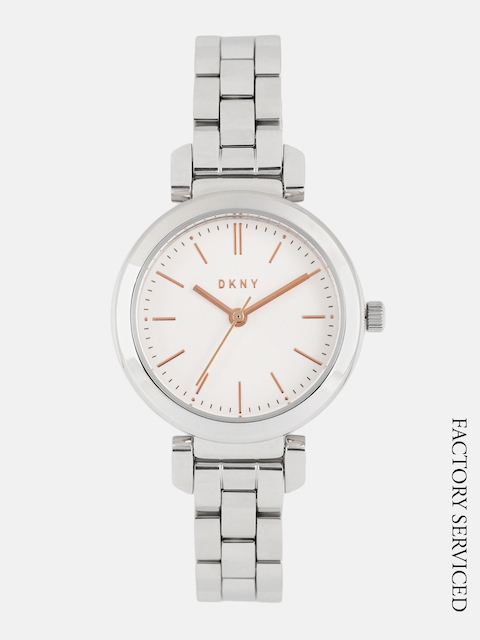 DKNY Women White Analogue Factory Serviced Watch NY2591I
