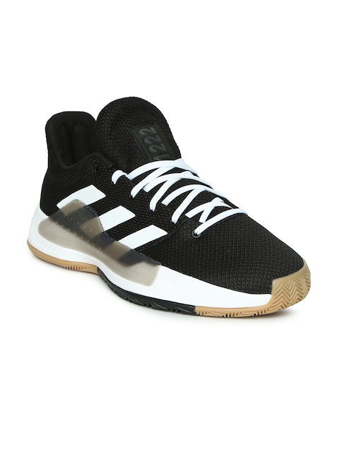 ADIDAS Men Black PRO BOUNCE MADNESS LOW 2019 Basketball Shoes