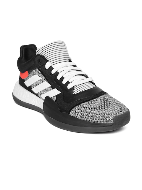 ADIDAS Men Black MARQUEE BOOST LOW Basketball Shoes