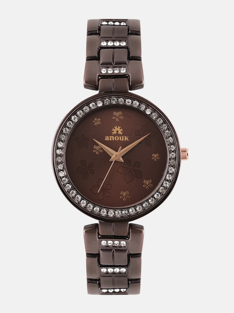 Anouk Women Brown Analogue Watch ANK-01-BR-BR