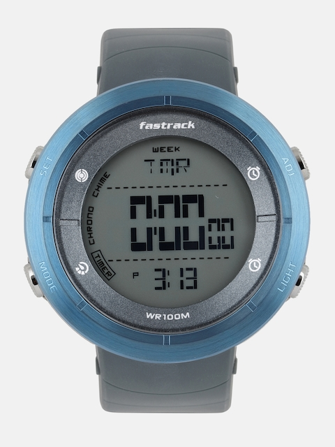 Fastrack Men Grey Digital Watch 38047PP03