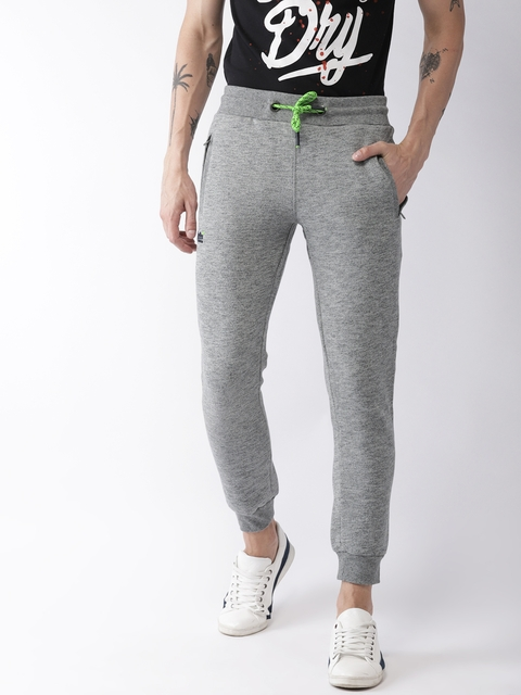 Superdry Men Grey Melange Joggers