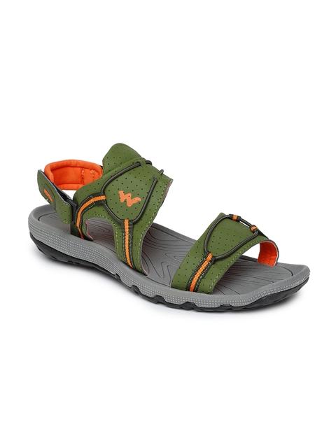 Wildcraft Men Olive Green Sports Sandals