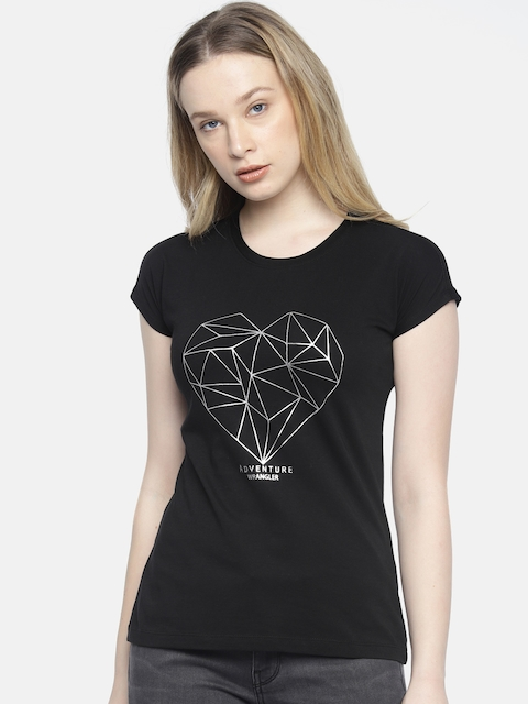 728e7110f4 Wrangler Women Tops & T-Shirts Price List in India 2 July 2019 ...