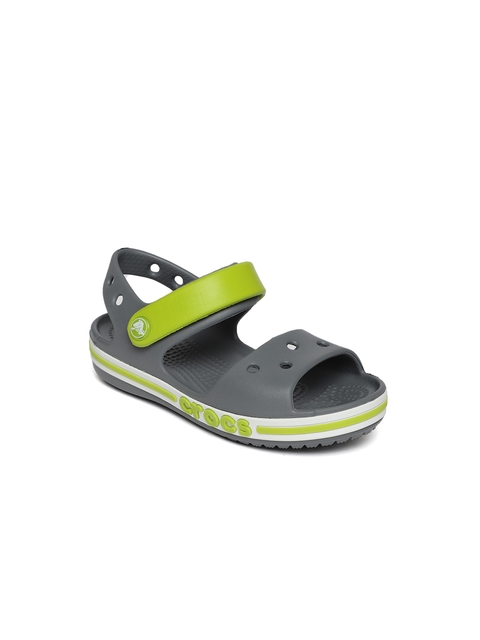 Crocs Unisex Grey Sports Sandals