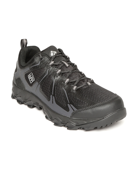 Columbia Men Black PEAKFREAK XCRSN II XCEL LOW OUTDRY Hiking Shoes