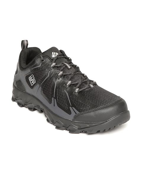 Columbia Men Black PEAKFREAK XCRSN II XCEL LOW OUTDRY Hiking Shoes