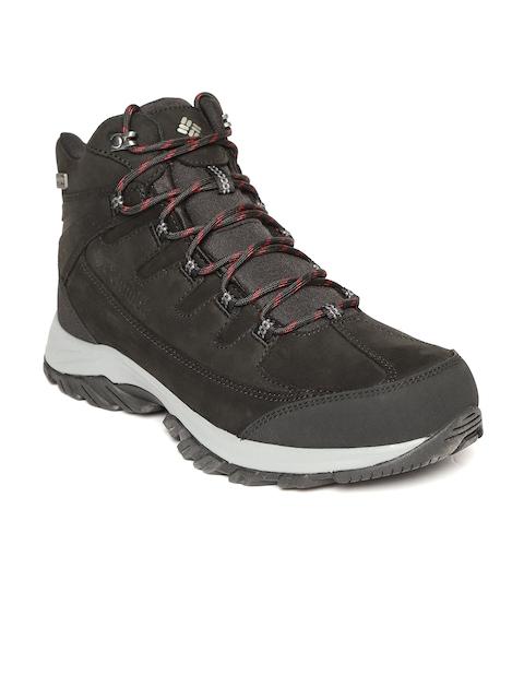 Columbia Men Black TERREBONNE II MID OUTDRY Hiking Shoes