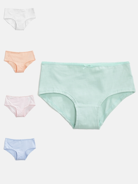 Marks & Spencer Girls Pack of 5 Solid Briefs T717014V