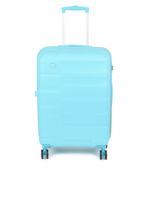 VIP Unisex Blue Cabin Trolley Bag