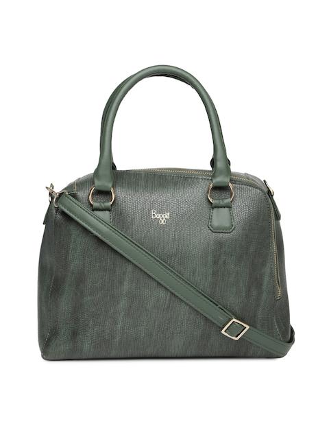 Baggit Green Textured Handheld Bag