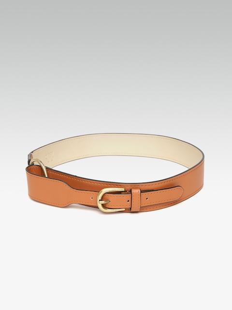 20Dresses Women Tan Brown Solid Waist Belt