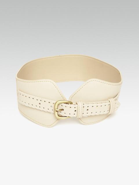 20Dresses Women Beige Solid Waist Belt