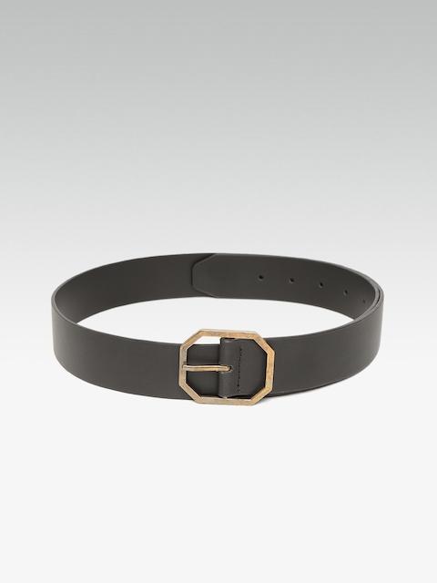20Dresses Women Black Solid Belt