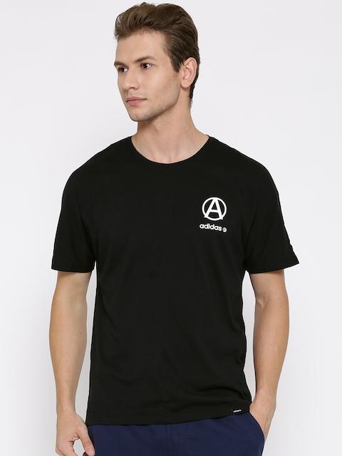 Adidas NEO Black CRCL LG Printed T-shirt