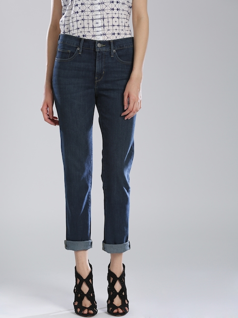 Levi's Blue Shaping Slim Jeans 312