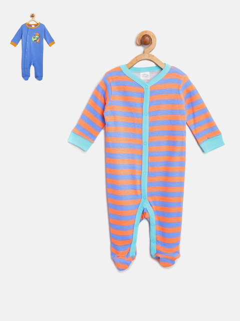 Mothers Choice Boys Pack of 2 Sleepsuits