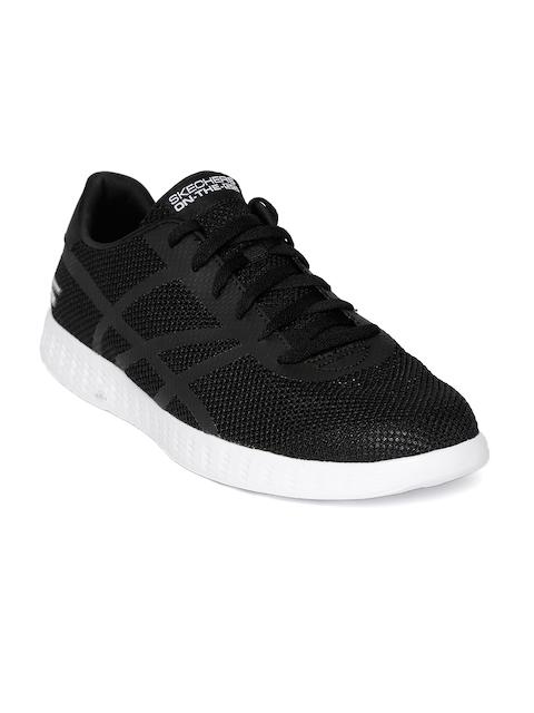 Skechers Men Black On-The-Go Glide-Gust Walking Shoes
