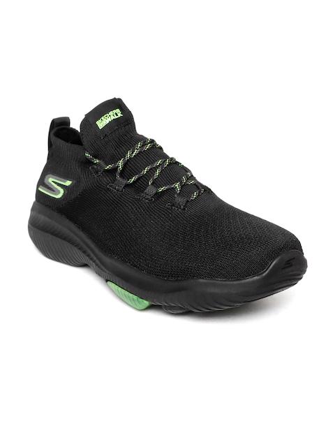Skechers Men Black Go Walk Revolution Ultra-Turbo Walking Shoes