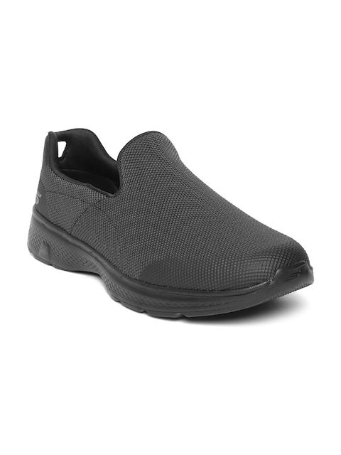 Skechers Men Black Go Walk 4-Viability Walking Shoes