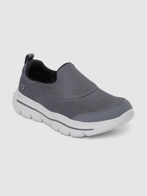 Skechers Men Grey GO WALK EVOLUTION ULTRA-RAPID Walking Shoes
