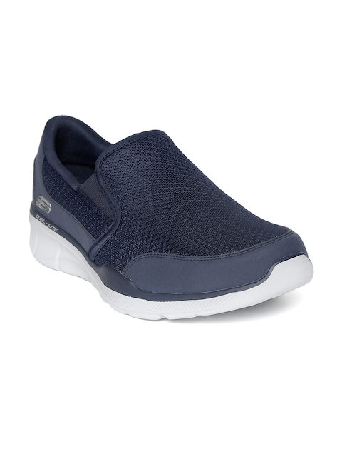 Skechers Men Navy Blue Equalizer 3.0 Slip-On Shoes