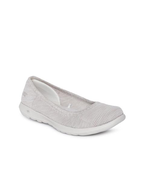 Skechers Women Beige GO WALK LITE Walking Shoes
