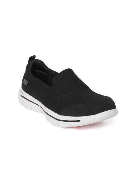 Skechers Women Black Go Walk Evolution Ultra-Reach Walking Shoes