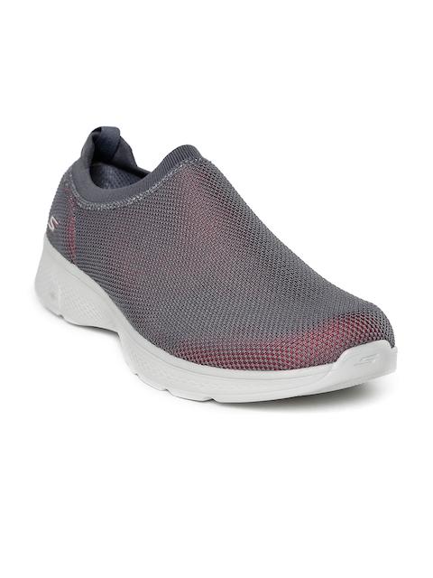 Skechers Men Grey Go 4-Intend Walking Shoes