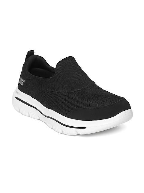 Skechers Men Black Go Walk Evolution Ultra-Rapid Walking Shoes