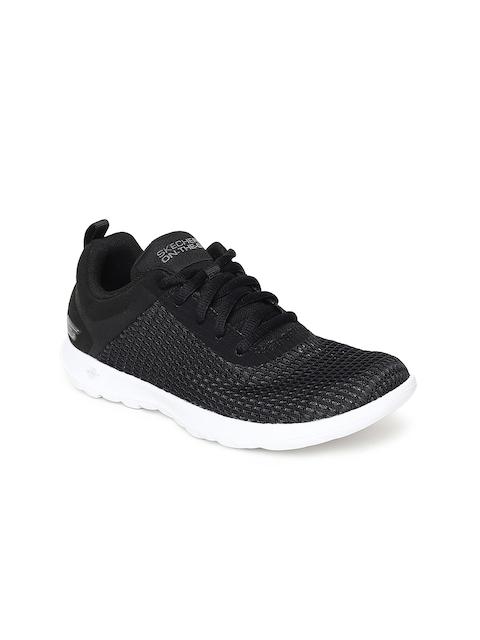 Skechers Women Black GO WALK LITE-EASY BREEZY Walking Shoes