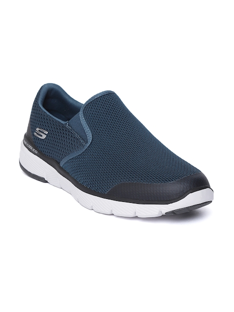 Skechers Men Navy Blue SEQUOIA Slip-Ons