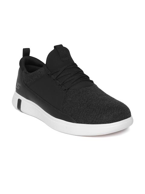 Skechers Men Charcoal Grey Glide Ultra Walking Shoes