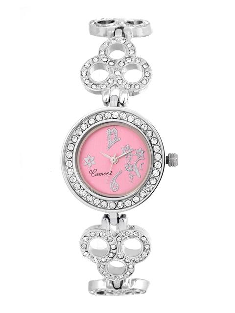 Camerii Women Pink Dial Watch CWL574