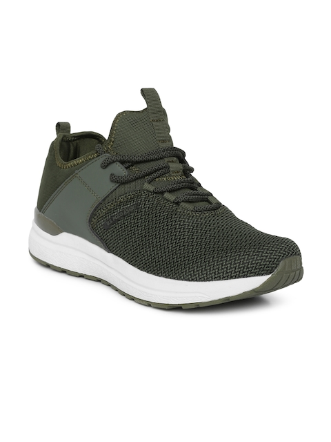 U.S. Polo Assn. Men Olive Green Sneakers