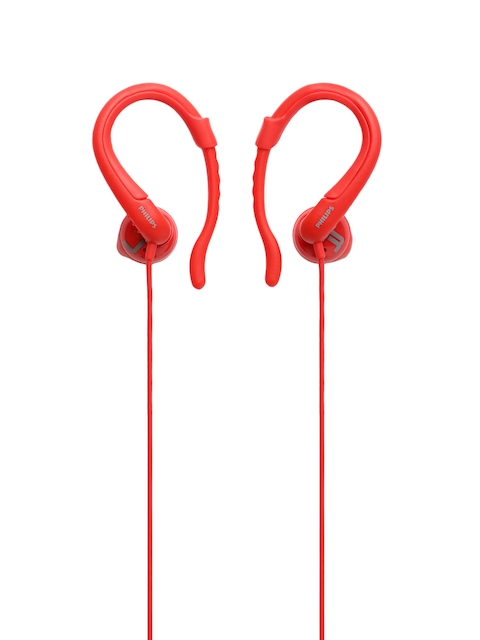 Philips Unisex Red ActionFit SHQ1255TRD/00 Wired Earphones