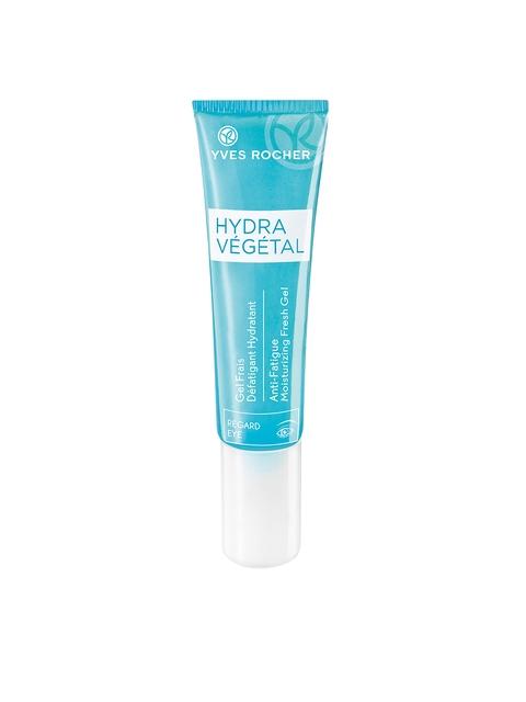 Yves Rocher Unisex Hydra Vegetal Anti-Fatigue Moisturizing Fresh Gel Eye 15ml