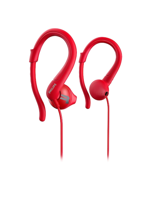 Philips Unisex Red ActionFit Wired Earphones SHQ1250TRD/00